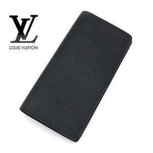 LOUIS VUITTON ルイ・ヴィトン M30501 タイガ ポルトフォイユ ブラザ 小銭入れ付長財布 ノワール|sekine