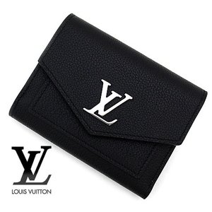 LOUIS VUITTON ルイヴィトン M62947 ポルトフォイユ・マイロックミー コンパクト 小銭入れ付き 三つ折り財布 ノワール|sekine