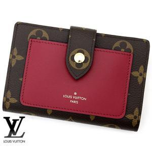 LOUIS VUITTON ルイ ヴィトン M69433 モノグラム ポルトフォイユ・ジュリエット 小銭入れ付き 二つ折り財布 フューシャ|sekine