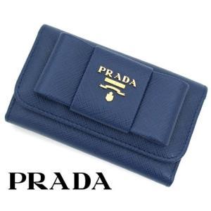 PRADA プラダ SAFFIANO FIOCCO 6連キー...
