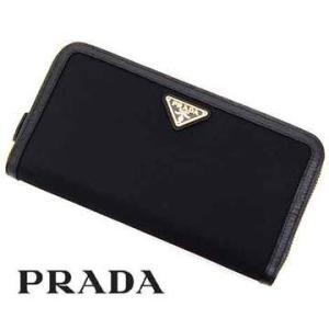 PRADA プラダ TESSUTO+VITELLO 小銭入れ...