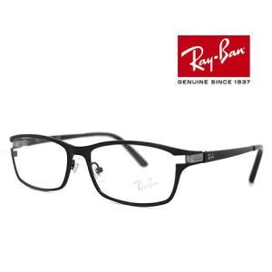 Ray Ban レイバン RX8727D RB8727D 1074 54 伊達眼鏡 チタン メガネフレーム マットブラック 正規品|sekine