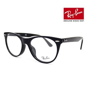 Ray Ban レイバン RX2185VF 2000 52 伊達眼鏡 WAYFARER II OPTICS メガネフレーム ウェイファーラーII ボストン ブラック 正規品|sekine