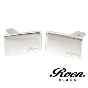 RoenBLACK ロエン ブラック ROT-101 カフス メンズ 2PCS/1セット シルバー sekine
