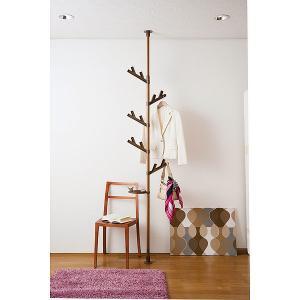 セキスイ つっぱり式ポールハンガー あいツリー 北欧スタイル TPH2-WOOD 【ウッド】|sekisui-onlineshop