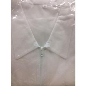 不織布 白衣 L ジッパータイプ|sekiyama