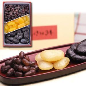 甘納豆の雪華堂/甘納豆三色寄せ 305g/大納言、白花、お多福/A10S|sekkado