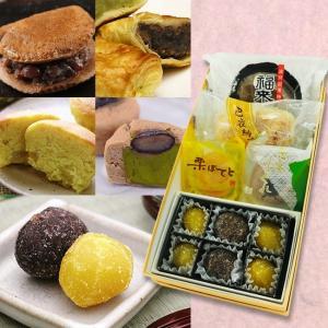 お歳暮ギフト/四種の和菓子と栗甘納糖セット/冬ギフト/甘納豆の雪華堂/老舗 和菓子|sekkado