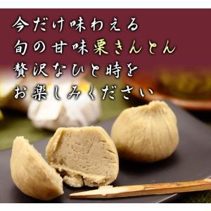 栗きんとん 6個詰合せ/甘納豆の雪華堂/秋の和菓子|sekkado|02
