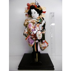 羽子板立飾り 金駒日本刺繍15号 (横幅26cm・奥行20c...