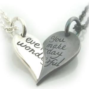 ペアネックレス シルバー FISS (pure heart) (PSN-004)|select-alei