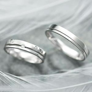 結婚指輪 マリッジリング プラチナ ペアリング 2本セット 無料刻印 Premium memory (pre-11-22-4022)|select-alei