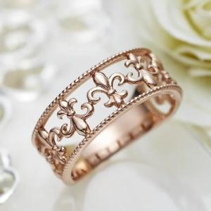 ピンキーリング K18 レディース 0号 1号 2号 3号 4号 ピンクゴールド Pinky Promise(20-1399 K18PG) select-alei
