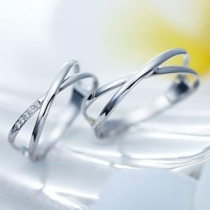 結婚指輪 マリッジリング プラチナ ペアリング 2本セット 無料刻印 Ange (11-22-424...