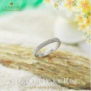 ハワイアンジュエリー ピンキーリング 指輪 シルバー925 AquaBelle ANELA AR925-PS レディース スクロール 波 彼氏 彼女 誕生日|select-alei