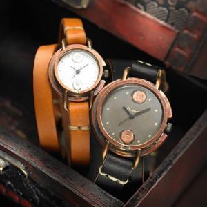 ペアウォッチ カップル 人気 セット 腕時計 セイコー製クォーツムーブメント 手作り ハンドメイド Curuto (CURUTO)|select-alei
