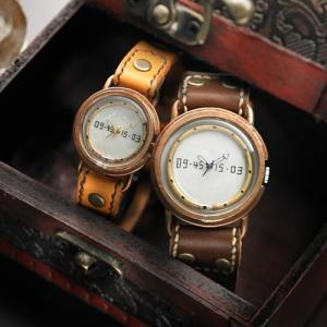 ペアウォッチ カップル 人気 セット 腕時計 セイコー製クォーツムーブメント 手作り ハンドメイド LINE (LINE)|select-alei