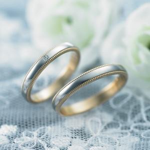 結婚指輪 マリッジリング プラチナ ペアリング 2本セット 無料刻印 PremiumDestiny (美しい運命) (m377-m377d)|select-alei