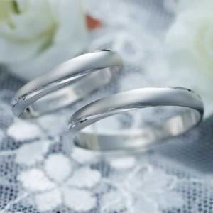 結婚指輪 マリッジリング プラチナ ペアリング 2本セット 無料刻印 PremiumDestiny (煌めく運命) (mmrh-p273)|select-alei