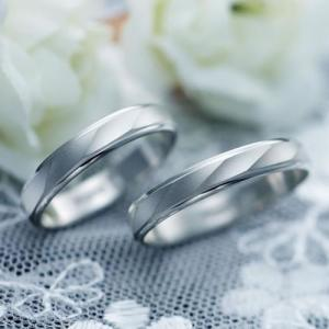 結婚指輪 マリッジリング プラチナ ペアリング 2本セット 無料刻印 PremiumDestiny (運命の流れ) (mrih-p530)|select-alei