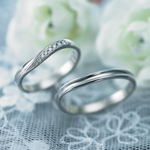 結婚指輪 マリッジリング プラチナ ペアリング 2本セット 無料刻印 PremiumDestiny (運命の導き) (p701-p701d)|select-alei