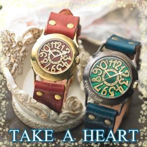 ペアウォッチ JHA カップル 人気 セット 腕時計 セイコー製クォーツムーブメント 手作り ハンドメイド TAKE A HEART|select-alei