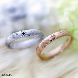 ディズニー ペアリング アナと雪の女王 アナ雪 (whiteclover-anayuki-1-2)|select-alei