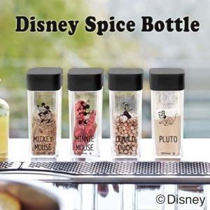 スパイスボトルにディズニーデザインが登場。  使いたい量を片手で調節できる、便利な調味料保存容器。 ...