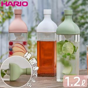本体ボトル部分がプラスチック素材の角型ボトルです。 注ぎ口内側にフィルターが付いているので、茶葉がコ...