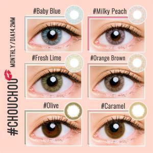 #CHOUCHOU MONTHLY(#チュチュマンスリー)/1ヵ月交換(度あり・度なし/1箱1枚入り) select-eyes 08