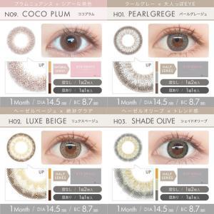 アイジェニックbyエバーカラー/1ヵ月交換(度あり1枚入り×2箱SET)エバーカラーから1MONTHが新登場!!|select-eyes|09