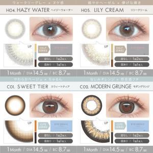 アイジェニックbyエバーカラー/1ヵ月交換(度あり1枚入り×2箱SET)エバーカラーから1MONTHが新登場!!|select-eyes|10