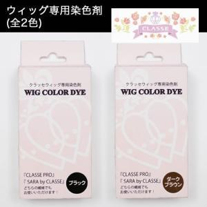 自分だけのオリジナルカラーに! ウィッグ専用染色剤 全2色