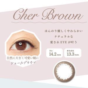 アイビューティー 2ウィークカラコン/EYE BEAUTY 2week by FAIRY・ブラウン&ベージュ2色 ( 度あり・度なし)DIA14.2mm【1箱6枚入り】|select-eyes|04