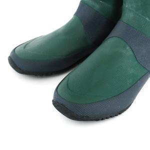日本野鳥の会 バードウォッチング長靴 折りたたみ ブラウン/グリーン 23.0cm〜29.0cm 男女兼用 男女共用 レインブーツ|select-mofu-y|05
