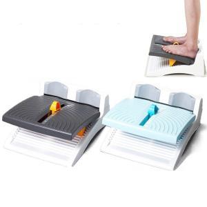 アサヒ ストレッチングボードEV ダークグレー ライトブルー 柔軟 健康グッズ|select-mofu-y