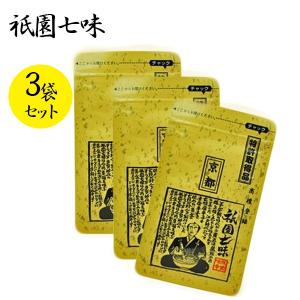 祇園味幸 祇園七味 小袋 16g × 3個 詰替用の商品画像|ナビ
