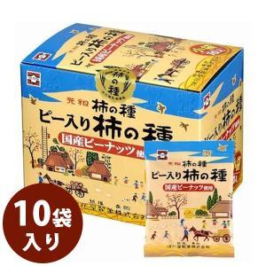 新潟土産 元祖 柿の種 浪花屋 ピー入り柿の種 化粧箱 19...