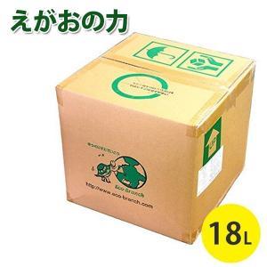 えがおの力 18L l詰替えタイプ 多目的液体洗剤 鶴田商会 オーガニック洗剤 お徳用 大容量