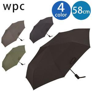 折りたたみ傘 アンヌレラ ビズ 全4色 ブラック グレー ネイビー カーキ Wpc.公式 濡らさない...
