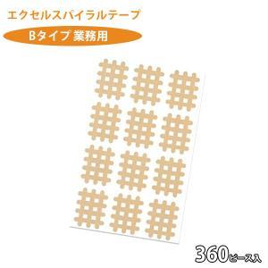 スパイラルの田中 お徳用 エクセル スパイラルテープ  Bタイプ 30シート 360枚