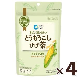 とうもろこしのひげ茶 150g×4個セット ティーバッグ 韓美茶 大象 コーン茶 韓国食品 とうもろこし茶 お茶