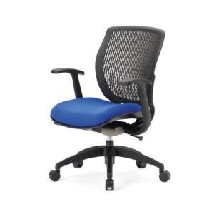 送料無料 オフィス家具オフィスチェア メッシュチェア 完成品 多機能チェア ミーティングチェア チェア/椅子肘付き ローバック 背部樹脂メッシュ仕様 select-office