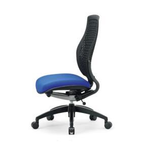 送料無料 完成品 オフィスチェア メッシュチェア多機能チェア ミーティングチェアオフィス家具 チェア/椅子肘無し ハイバック(MA-1525 FM19 -BK) select-office