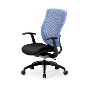 送料無料 オフィス家具オフィスチェア メッシュチェア 完成品 多機能チェア ミーティングチェア チェア/椅子肘付き ハイバック 背部樹脂メッシュ仕様 select-office