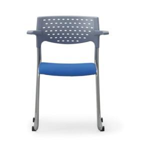 4脚セット スタッキングチェア MC-102G粉体塗装タイプ 素材・カラー選べます オフィス家具 会議 チェア/椅子グレーシェル仕様  送料無料|select-office