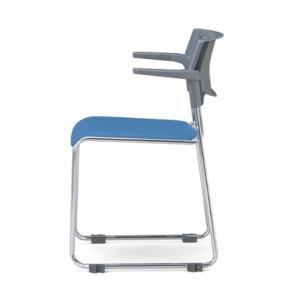 4脚セット スタッキングチェア MC-112Gクロームメッキタイプ 素材・カラー選べます オフィス家具 会議 チェア/椅子グレーシェル仕様  送料無料|select-office