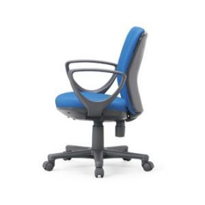 送料無料 ローバックタイプオフィスチェア・サークル肘付き 組立品 事務椅子・ミーティングチェアチェア/椅子 メーカー品 肘付き 素材・カラー選べます select-office