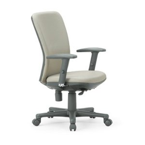 送料無料 ミドルバックタイプオフィスチェア・可動肘付き 組立品 事務椅子・ミーティングチェアチェア/椅子 メーカー品 肘付き 素材・カラー選べます select-office