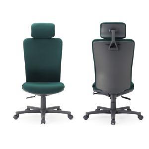 送料無料 オフィス家具オフィスチェア・肘無し 組立品 多機能チェア・ミーティングチェアチェア/椅子ヘッドレスト付きハイバック 素材・カラー選べます select-office